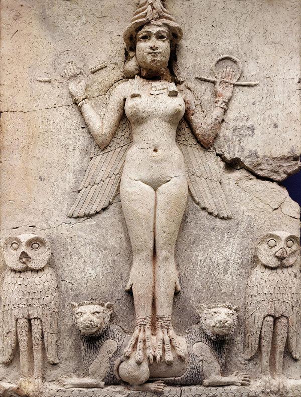 Ishtar, déesse de l'air et de la nuit