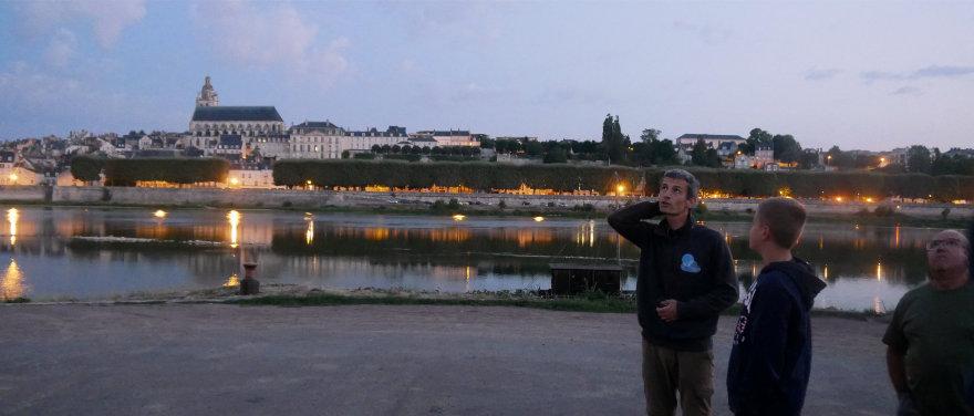 Blois et le port de la Creusille, un point de rendez-vous facile à trouver pour les touristes.