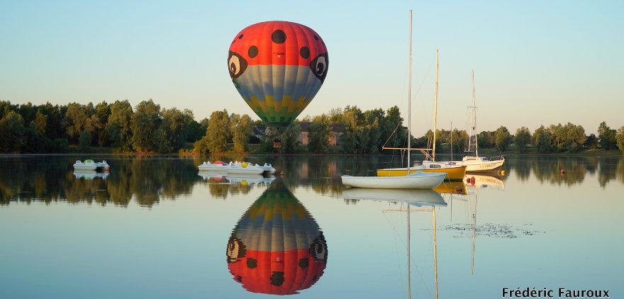 Décoller en montgolfière du Domino à Suèvres, une ambiance cristalline