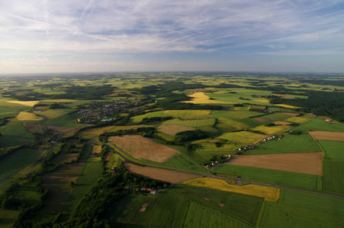 paysage de charme, campagne intemporelle de France