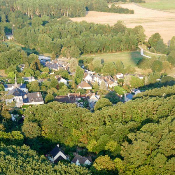 Découvrez autrement le val de Loire en montgolfière