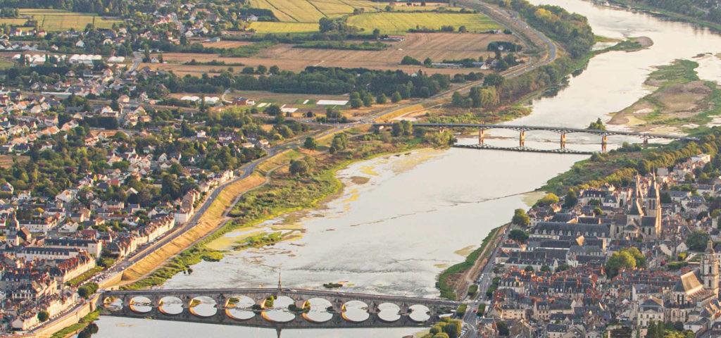 Blois, cité royale du val de Loire à découvrir en montgolfière