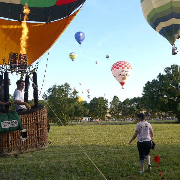 La passion du vol en montgolfière, un meeting pour l'entretenir !