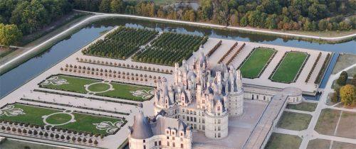survoler les châteaux de la Loire, une idée cadeau parfaite