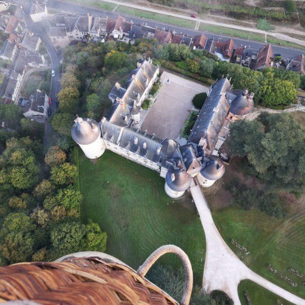 En montgolfière pour découvrir autrement les châteaux de la Loire